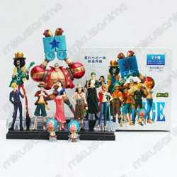 Lote 10 figuras One Piece...