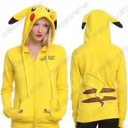 Sudadera Pikachu cosplay...