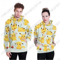 Sudadera Pikachu 3D M-2XL