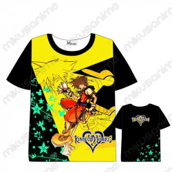 Camiseta Kingdom Hearts 02...