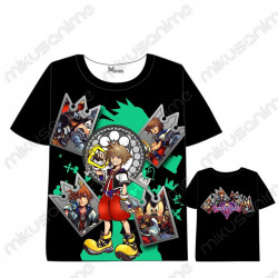 Camiseta Kingdom Hearts 03...