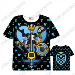 Camiseta Kingdom Hearts 06...