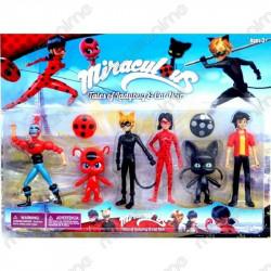 Set 6 muñecos Ladybug...