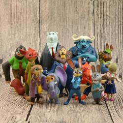 Set 12 muñecos Zootrópolis...