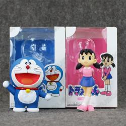 Lote figuras Doraemon y...