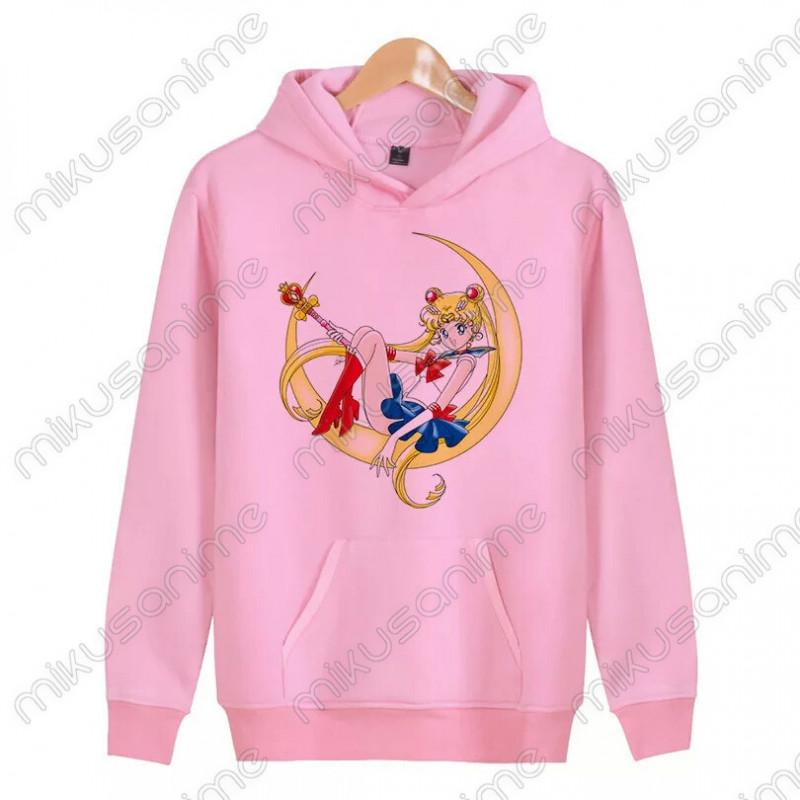 comprar online a521a d58cd Sudadera Sailor Moon S-2XL
