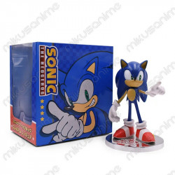 Figura Sonic el erizo azul...