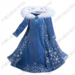 Vestido Cosplay Elsa Frozen...