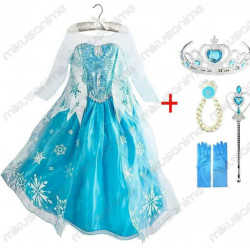 Disfraz Elsa Frozen 100-150