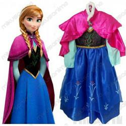 Disfraz Anna Frozen 2-12 años