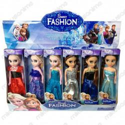 Lote 6 muñecas Frozen 16CM
