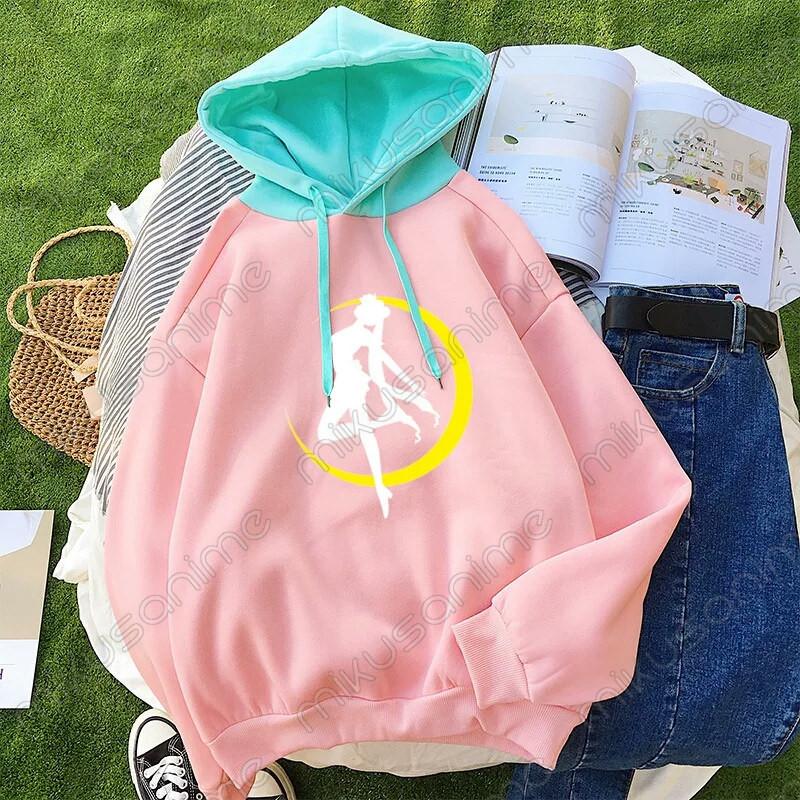 zapatos deportivos c86aa ccca2 Sudadera Sailor Moon multicolor M-XL