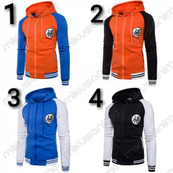 Chaqueta Dragon Ball M-3XL