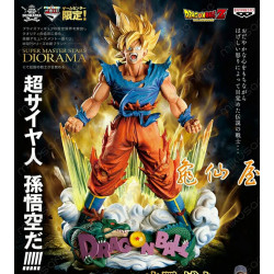 Figura Son Goku The Brush 23cm