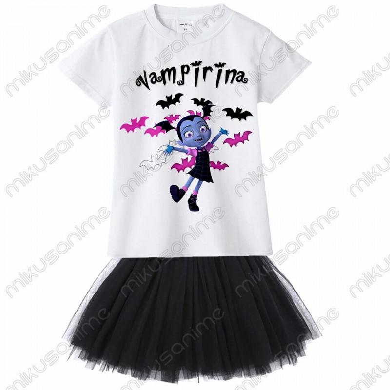 3401228a1651e Conjunto camiseta y falda Vampirina