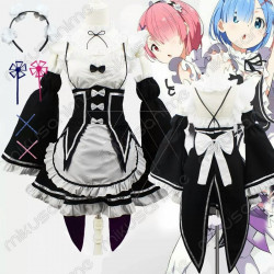 Cosplay Ram y Rem Re:Zero...