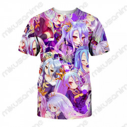 Camiseta Shiro 01 - No game...