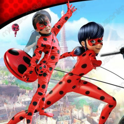 Disfraz Ladybug S-XL -...