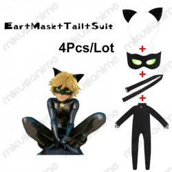 Disfraz Cat Noir S-XL -...