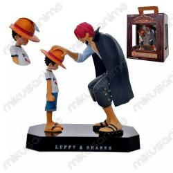 Figura Shanks y Luffy One...