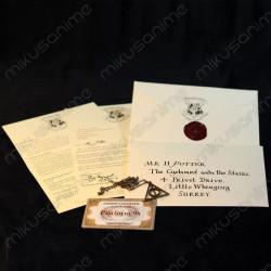 Carta Hogwarts+Ticket...