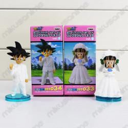 Pack figuras Chichi Goku...