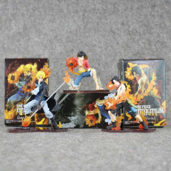 Lote Figura Luffy, Ace,...