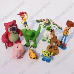 Set 9 muñecos - Toy Story