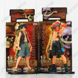 Lote figura Luffy y Ace One...