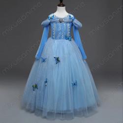 Vestido mariposas princesa...