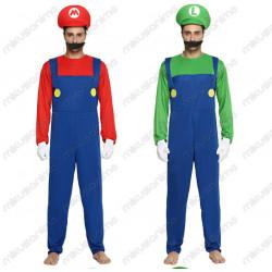 Disfraz Super Mario y luigi...