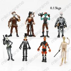 Lote 8 muñecos Fortnite...