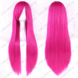 Peluca cosplay color fucsia...