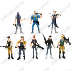 Lote 8 muñecos Fortnite