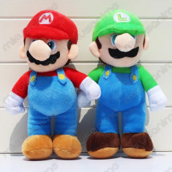 Set peluches Super Mario y...