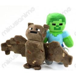 Lote 2 peluches Minecraft...