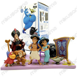Set de 8 figuras - Aladdin