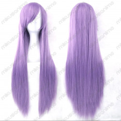 Peluca cosplay color lila 80cm