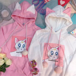 Sudadera Sailor Moon pompones