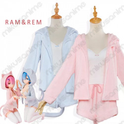 Cosplay Ram Rem pijama - Re...