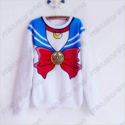 Sudadera Sailor Moon Azul