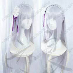 Peluca con diadema Emilia -...