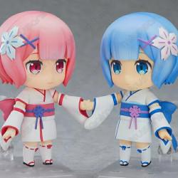 Nendoroids Rem y Ram kimono...