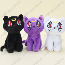 Lote 3 peluches Sailor Moon...