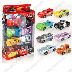 Set 8 coches Cars