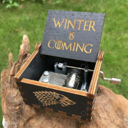 Caja musical Winter is...