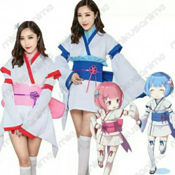 Cosplay kimonos Ram y Rem -...