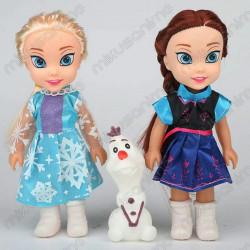 Set 3 muñecas Frozen Anna,...