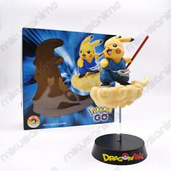 Figura Pikachu Goku Dragon...