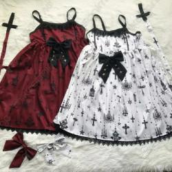 Vestido Lolita vintage...